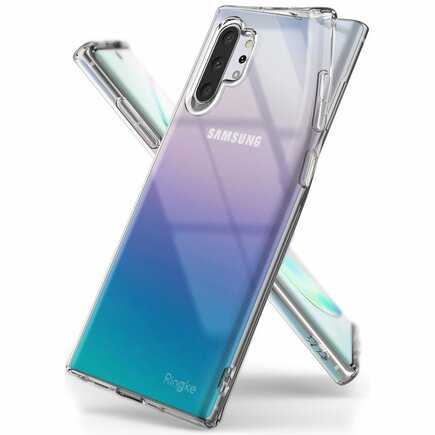 Air ultratenké gelové pouzdro Samsung Galaxy Note 10 Plus průsvitné (ARSG0022)