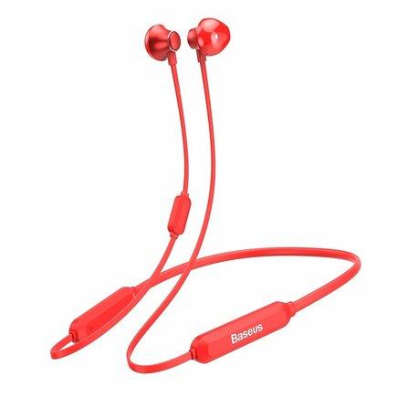 Baseus Encok Necklace S11A bezdrátová sluchátka do uší Bluetooth červená (NGS11A-09)