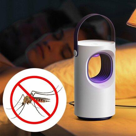 Baseus Mosquito Killing Lamp lapač hmyzu UV bílý (ACMWD-ZX02)