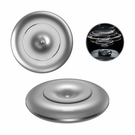 Baseus Vortex Car Air Freshener osvěžovač vzduchu do auta na palubní desku stříbrný (SUXUN-QX0S)