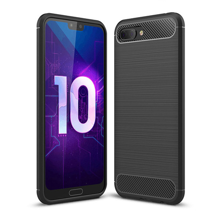 Carbon Case elastické pouzdro Huawei Honor 10 černé