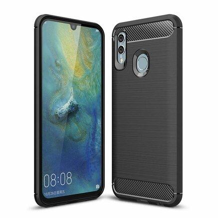 Carbon Case elastické pouzdro Huawei P Smart 2019 černé