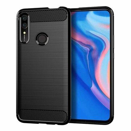 Carbon Case elastické pouzdro Huawei P Smart Z černé
