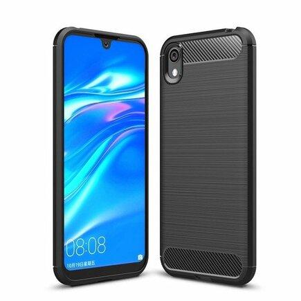 Carbon Case elastické pouzdro Huawei Y5 2019 černé
