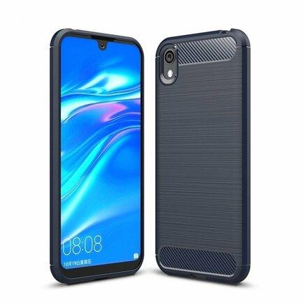 Carbon Case elastické pouzdro Huawei Y5 2019 modré