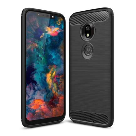 Carbon Case elastické pouzdro Motorola Moto G7 Play černé