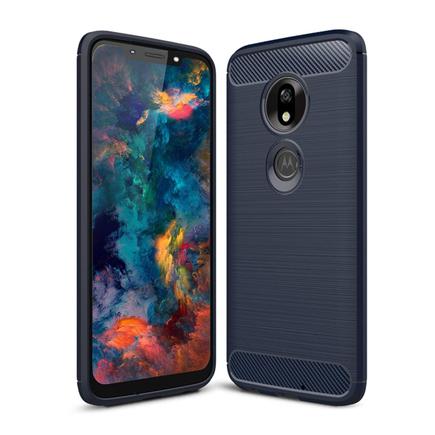 Carbon Case elastické pouzdro Motorola Moto G7 Play modré