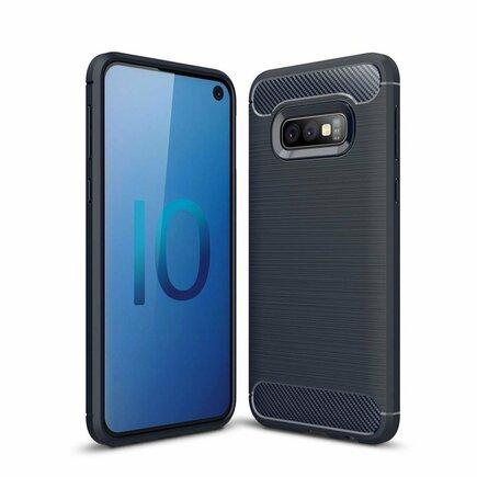 Carbon Case elastické pouzdro Samsung Galaxy S10e modré