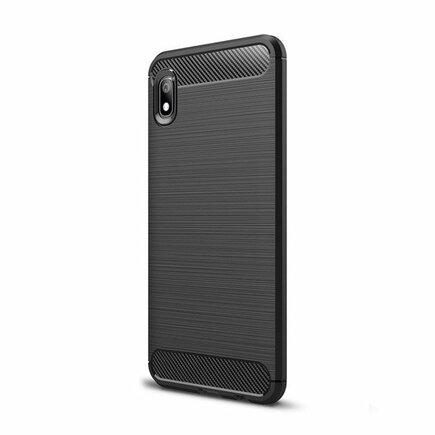 Carbon Case elastické pouzdro Xiaomi Redmi 7A černé