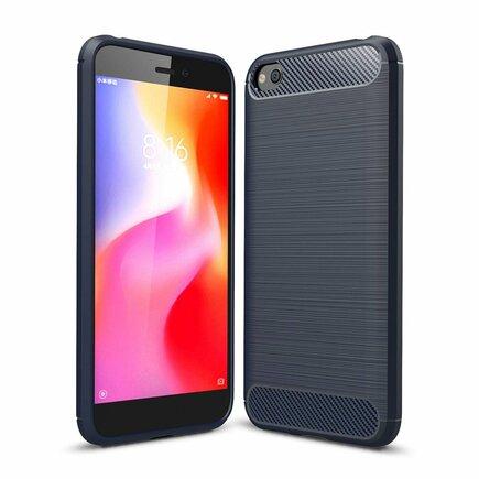 Carbon Case elastické pouzdro Xiaomi Redmi Go modré