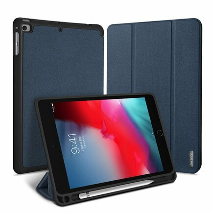 Domo skládané pouzdro na tablet s funkcí Smart Sleep podstavec iPad mini 2019 modré