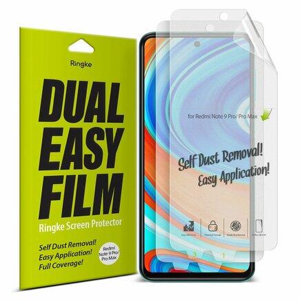 Dual Easy Film 2x ochranná fólie Xiaomi Redmi Note 9 Pro / Redmi Note 9S / Poco X3 NFC (ESXI0005)