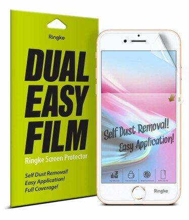 Dual Easy Film 2x ochranná fólie iPhone 8 / 7 / 6S / 6 (ESAP0001-RPKG)