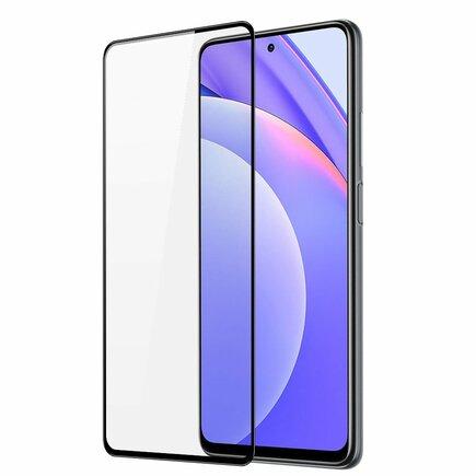 Dux Ducis 9D Tempered Glass odolné tvrzené sklo 9H na celý displej s rámem Xiaomi Mi 10 Lite černé (case friendly)