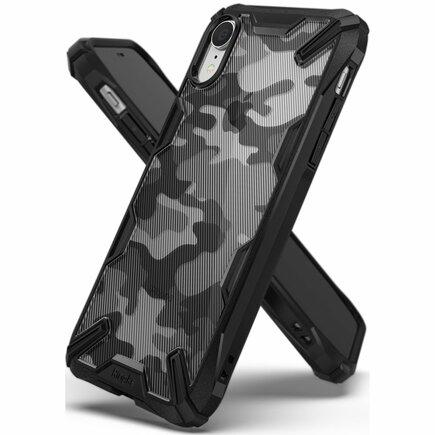 Fusion X Design pancéřové pouzdro s rámem iPhone XR černé (XDSG0016)