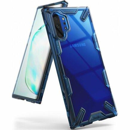 Fusion X pancéřové pouzdro s rámem Samsung Galaxy Note 10 Plus modré (FUSG0030)