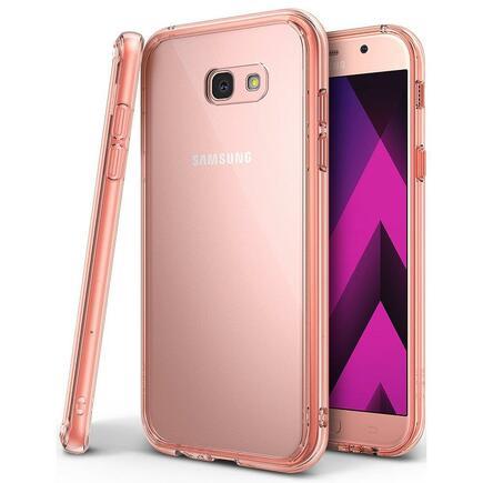 Fusion pouzdro s gelovým rámem Samsung Galaxy A5 2017 A520 růžové (FSSG0013-RPKG)