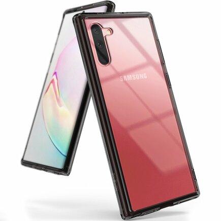 Fusion pouzdro s gelovým rámem Samsung Galaxy Note 10 černé (FSSG0068)