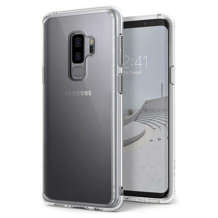 Fusion pouzdro s gelovým rámem Samsung Galaxy S9 Plus G965 průsvitné (FSSG0040)