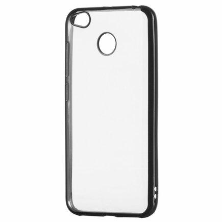 Gelové pouzdro Metalic Slim Xiaomi Redmi 4X černé