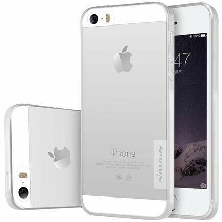Gelové pouzdro Ultra Slim Nature iPhone SE 5S 5 průsvitné