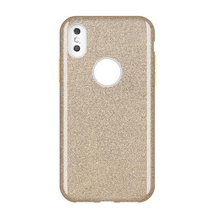 Glitter Case lesklé pouzdro s brokátem Huawei Y7 2019 / Y7 Prime 2019 zlaté
