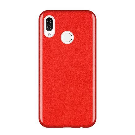 Glitter Case lesklé pouzdro s brokátem Samsung Galaxy A9 2018 A920 červené