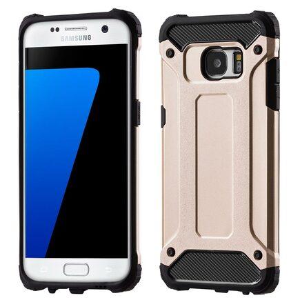 Hybrid Armor pancéřové hybridní pouzdro Samsung Galaxy S7 Edge G935 zlaté