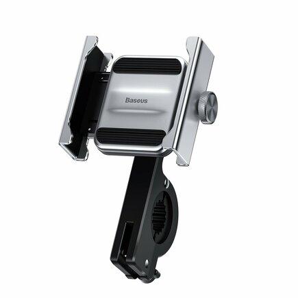 Knight kovový držák pro telefon na cyklistické kolo nebo motorku stříbrný (CRJBZ-0S)