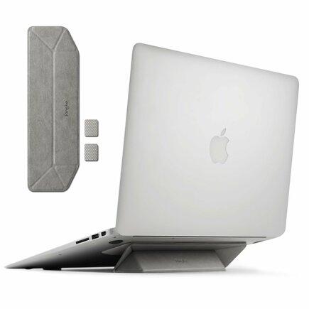 Laptop Stand skládaný podstavec pod laptop stříbrný (ACST0004)