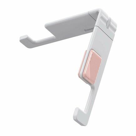 Let''s go mini podstavec / stojan na telefon tablet bílý (SUPM-24)