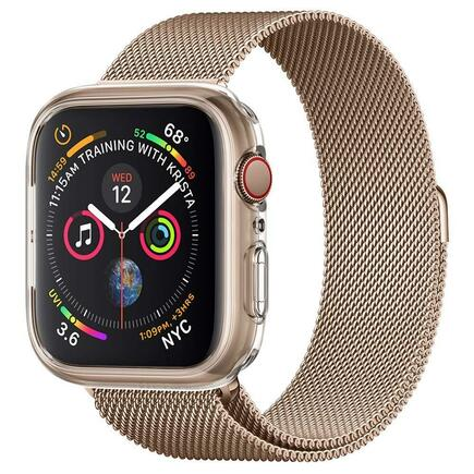 Liquid Crystal pouzdro Apple Watch 4 (44MM) průsvitné