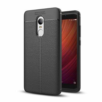 Litchi Pattern elastické pouzdro Xiaomi Redmi Note 5 černé