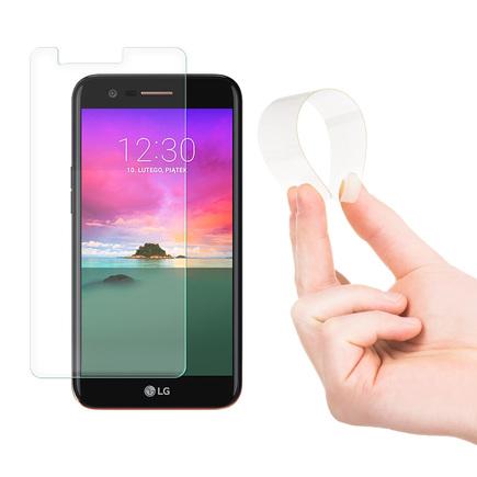 Nano Flexi hybridní elastická skleněná fólie 9H LG K10 2017