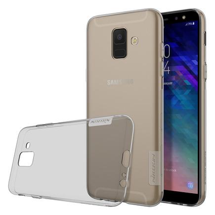 Nature gelové pouzdro ultra slim Samsung Galaxy A6 2018 A600 šedé
