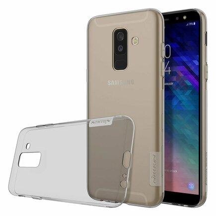 Nature gelové pouzdro ultra slim Samsung Galaxy A6 Plus 2018 A605 šedé