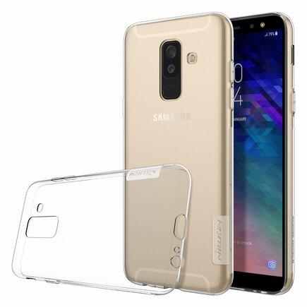 Nature gelové pouzdro ultra slim Samsung Galaxy A6 Plus 2018 A605 průsvitné