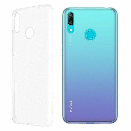 Originální Protective Pouzdro transparentní pro Huawei Y7 2019 (EU Blister)
