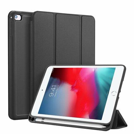 Osom gelové pouzdro na tablet Smart Sleep s podstavcem iPad mini 2019 / iPad mini 4 černé
