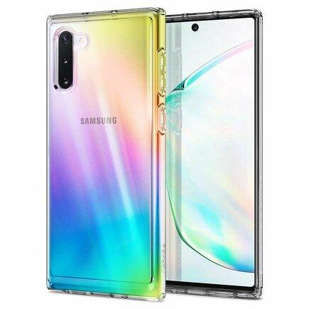 Pouzdro Crystal Hybrid Galaxy Note 10 průsvitné