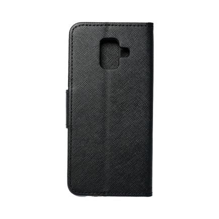 Pouzdro Fancy Book Samsung A6 2018 černé