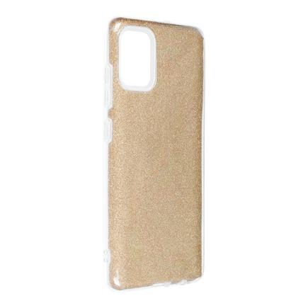 Pouzdro Forcell Shining Samsung Galaxy A52 5G / A52 LTE ( 4G ) zlaté