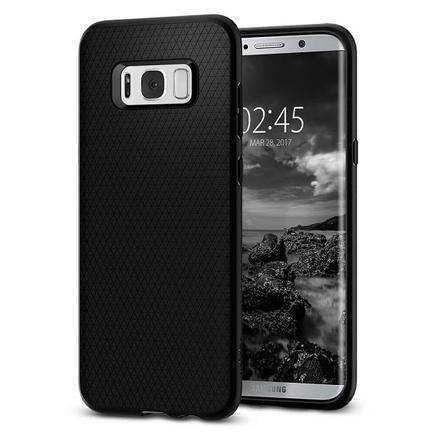 Pouzdro Liquid Air Samsung G950 S8 černé /black 565CS21611