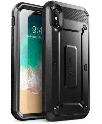 Pouzdro Unicorn Beetle Pro iPhone X / Xs černé