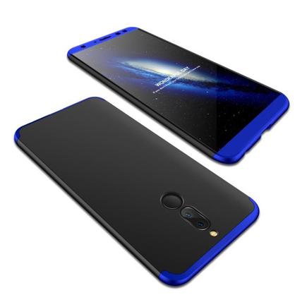 Pouzdro na přední i zadní část telefonu 360 Huawei Mate10 Lite modré/černé