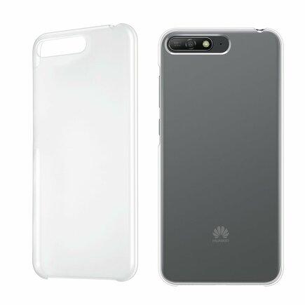 Protective PC Case pouzdro Huawei Y6 2018 průsvitné (51992440)