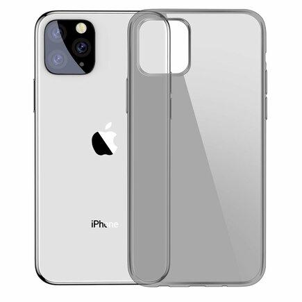 Simple Series Case průsvitné gelové pouzdro iPhone 11 Pro Max černé (ARAPIPH65S-01)