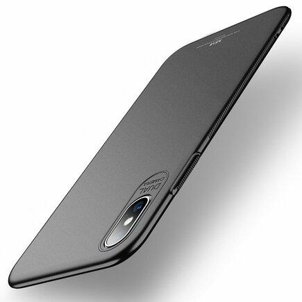 Simple ultratenké pouzdro iPhone XS Max černé