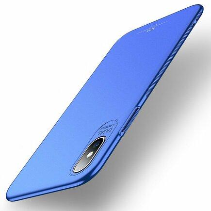 Simple ultratenké pouzdro iPhone XS Max modré