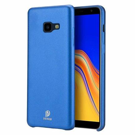 Skin Lite case pouzdro z eko kůže Samsung Galaxy J4 Plus 2018 J415 modré